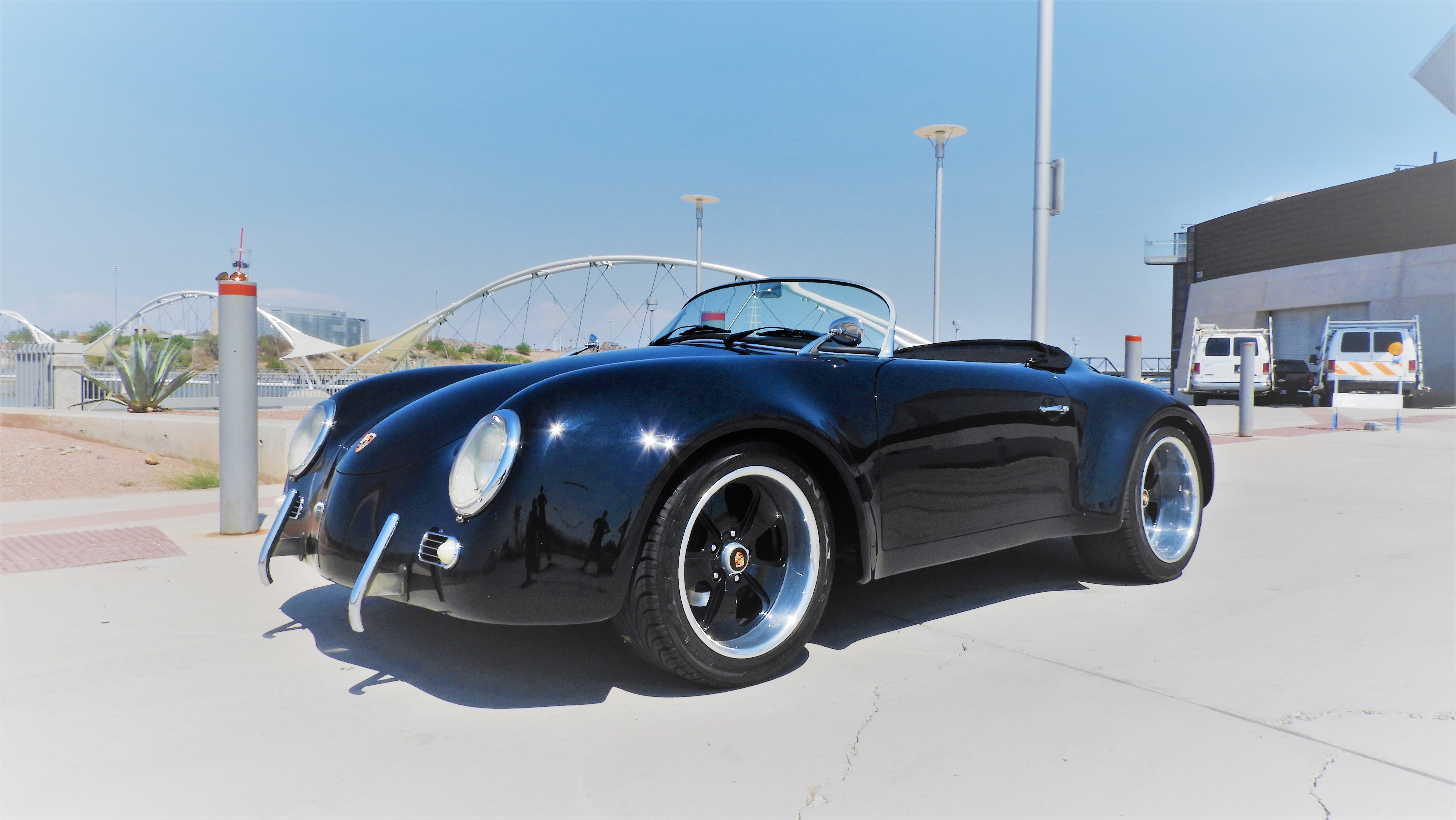 Sold 1956 Porsche 356 Speedster Super Wide Body Replica